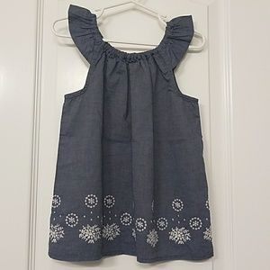 Other - Toddler girl denim top